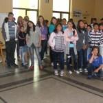 представяне на филмчета от други училища по света