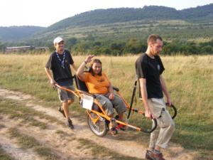 високо проходими колички, удобни и лесни за ползване.