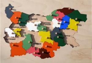 karta na Bulgaria